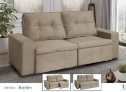 Título do anúncio: Sofá retrátil e reclinável, NOVO na caixa,ENTREGO!