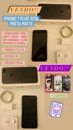 IPhone 7 Plus 32GB Preto Matte Usado