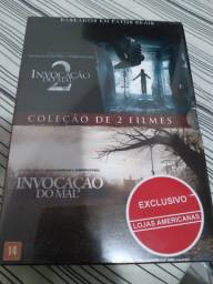 BOX invocação  do  Mal 1&2 dvd  original/lacrado
