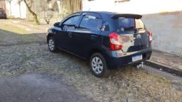 Etios 1.3 X Azul Hatch 17 Completo S/Detalhe 40,900 (Troco pickUp)