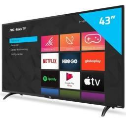 (Nova, lacrada) Smart TV 43 ROKU TV AOC
