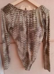 Body de estampa de cobra