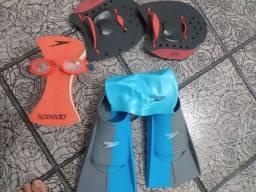 Kit completo natação e triatoon Speedo + óculos Xpirit