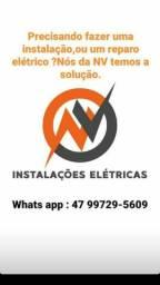 Manutenção instalação instalação reparos eletricos!!!!