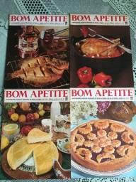 Revistas dew Culinárias ou de Plantas antigas - Lote