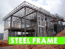 Construção a seco casa mais rápida do Brasil - Steel Frame e serviços