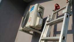 Instalação de ar condicionado no bairro Sagrada Família