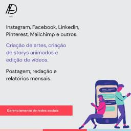 Título do anúncio: Gerenciamento de redes sociais