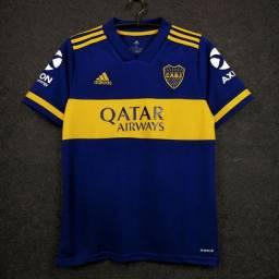 Camisa Boca Juniors - Aceitamos cartoes/PIX