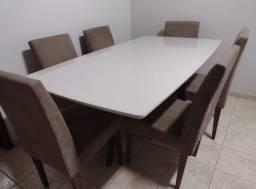 Conjunto sala de jantar 6 cadeiras