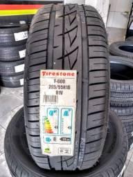 Pneu Novo 205/55 R16 91V F600 Firestone ( Promoção )