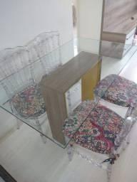 Jogo de Mesa com 4 cadeiras Dior