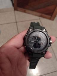 Relógio Exército Novo (com DEFEITO de fabrica)