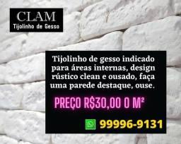 Tijolinho De Gesso 3D