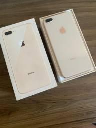IPhone 8 PLUS 64GB Dourado (seminovo)