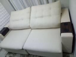 Vendo sofá retrátil novo!!! Pouco tempo de uso!