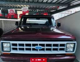 Ford F1000 1985 MWM Relíquia segundo dono
