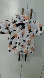 Camisa Infantil Poderoso Chefinho 02 anos
