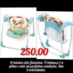 Cadeira de balanço bebê automática