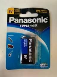 Pilha comum 9V Panasonic