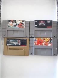 Fitas/Cartuchos de Super Nintendo Snes