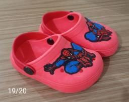 Calçados Homem Aranha