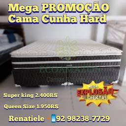 Título do anúncio: Cama Super King Cunha Hard++ PROMOÇÃO