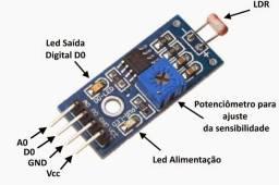 Sensor Luz Ldr Arduino