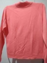 Casaquinho Rosa Neon