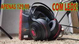 Super Headset com Leds Vermelhos ou Verdes!