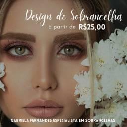 Título do anúncio: Design de Sobrancelhas / Jaraguá-Pampulha