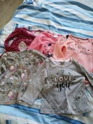 Lote roupas menina tamanho 2