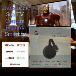 Chromecast 3 geração original vc Google