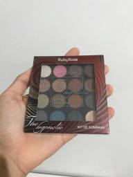 Paleta ruby rose the hypnotic mate metalica 15 cores e 1 primer