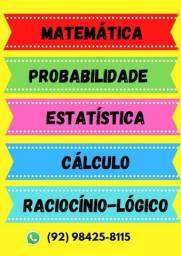 Título do anúncio: Resolvo Listas de Exercícios de Exatas (Estatística, matemática....)