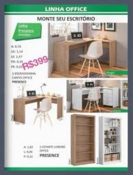 Título do anúncio: Escrivaninha de Canto Office, R$399