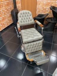 Poltrona de barbeiro Darua