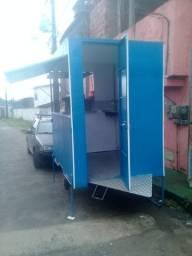 Trailer barraca nova nunca usada R$6.000,00