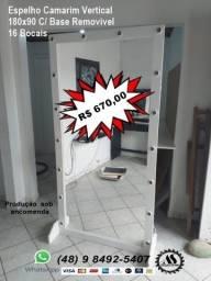 Título do anúncio: Espelhos Camarim de Corpo Direto De Fábrica