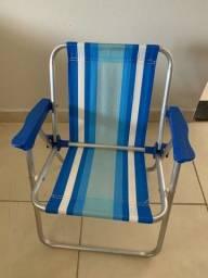 Título do anúncio: Cadeira de praia infantil em alumínio