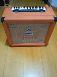 Amplificador Orange Crush Pix CR35LDX Combo 35W laranja 100V - 120V