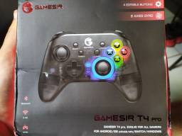 Controle sem fio Gamesir T4pro (pc, android, ios, nintendo switch)