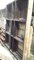 Vitro max ar completa de madeira