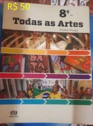 Livro - Todas as Artes - 8º Ano - R$ 50
