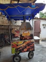 Título do anúncio: Vendo carrinho de churrasco