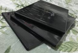 Conjunto Com 3 Capas Slim De Dvds - Novas