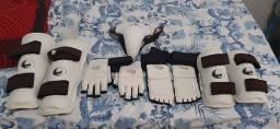 Kit de protetor de taekwondo