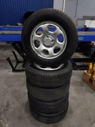 Título do anúncio: Vendo 5 pneus novos em ótimo estado(Eco Sport)