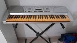 Troco teclado em motor serra