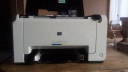 Impressora hp laser cp1025 semi nova